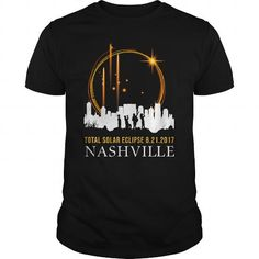 Awesome Tee Nashville Tennessee Total Solar Eclipse 8212017 Tshirt T-Shirts