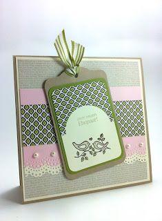 Wedding Card - Stampin Up!