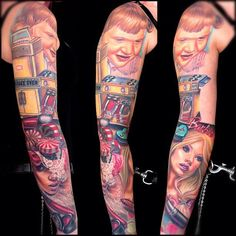 by Nikko Hurtado...same with this one! That's my friend Kelly's sleeve