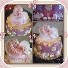 Waiting for baby cake