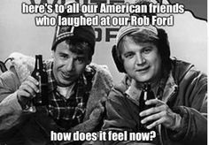Bob and Doug McKenzie (Rick Moranis and Dave Thomas) Strange Brew Canadian Things, I Am Canadian, Canadian Culture, Canadian History, Canadian Stereotypes, Dave Thomas, Rob Ford, Rick Moranis, Happy Canada Day