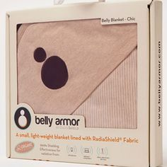 Belly Armor Organic Protective Radiashield Belly Blanket | Blocks radiation from laptop, cell phone, iPads etc www.duematernity.com