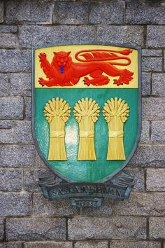 Crest of Saskatchewan Largest Countries, Cool Countries, O Canada, Canada Travel, Canada Pictures, Cool Pictures, Canada Country, Saskatchewan Canada, I Am Canadian