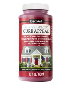 8.99-16 OZ Look at this #zulilyfind! Estate Red Americana Décor Curb Appeal Paint #zulilyfinds