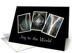 Joy to the world - Christmas - Alphabet Art | Greeting Card Universe by ABC by Sue