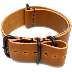 Beautiful Daluca leather NATO strap