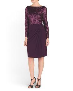 Long+Sleeve+Evening+Dress
