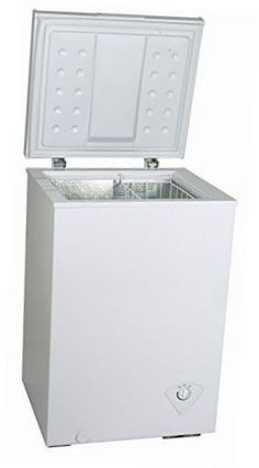 Equator Chest Freezer 5 Cubic Feet White Common Shopping
