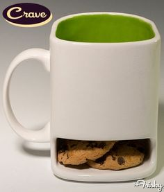 Milk and Cookies Mug - You mean you're only supposed to have 2 cookies??? Hmmm this could be part of my problem...