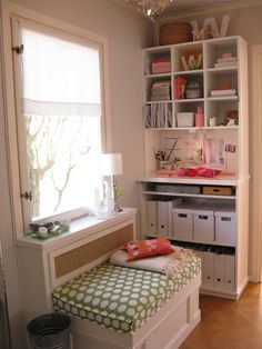 Pink home office | Flickr - Photo Sharing!