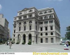Commercial bank in Havana Cuba