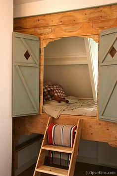 Tanner would sleep here!
