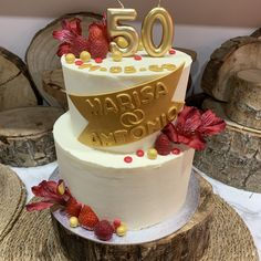 tarta aniversario floral Birthday Cake, Cupcakes, Floral, Desserts, Food, Fondant Cakes, Lolly Cake, Candy Stations, Tailgate Desserts