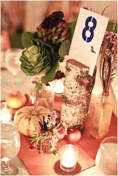 Pumpkin wedding inspiration ~ Autumn wedding ideas