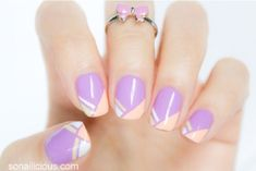 1⃣6⃣ Springtacular Nail Art Tutorials You Can Totally DIY! Love These! #Beauty #Trusper #Tip