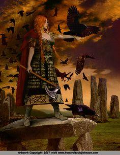 Women of Mythology; Warriors, Mothers & Virgins: The Art of Howard David  Johnson; Women of Greek, Roman, Norse & Asian Mythology
