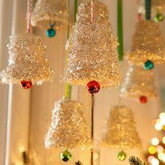 Adorable Handmade Christmas Ornaments: Chime In (via Parents.com)
