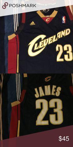 LeBron James #23 Cleveland throwback jersey 100% authentic brand new LeBron James #23 Cleveland Cavs throwback swingman jersey Adidas Shirts Tank Tops