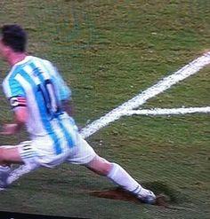 Lionel Messi estuvo al borde de una lesión