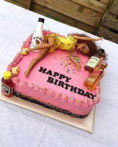 Drunk Barbie cake by KaapTaart Drunk Barbie cake by Kaa. - - Drunk Barbie cake by KaapTaart Drunk Barbie cake by Kaa… Food Betrunkener Barbie-Kuchen von KaapTaart # Geburtstagsdekorationen Betrunkener Barbie-Kuchen von KaapTaart 21st Birthday Cake For Girls, Barbie Birthday Cake, 21st Bday Ideas, Funny Birthday Cakes, 21st Birthday Decorations, 21st Birthday Cakes, Happy 21st Birthday, Funny Cake, 21st Birthday Presents
