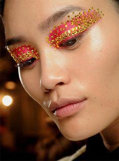 fun festival makeup idea