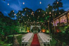 Casamento moderno: decoração da cerimônia