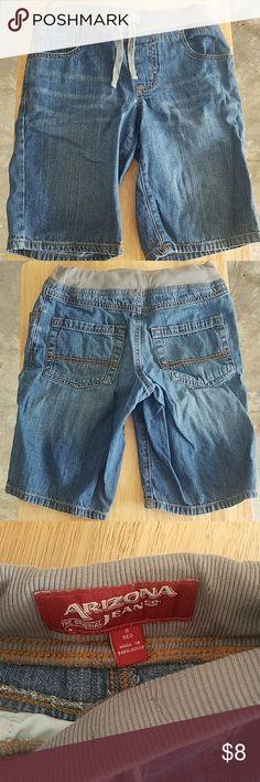 Arizona Boys Short 100% cotton Size 8 Elastic waist  Looks like new No stains No holes Arizona Jean Company Bottoms Jeans