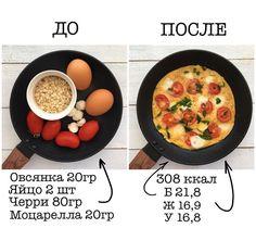 """ПОХУДЕНИЕ▪️РЕЦЕПТЫ ▪️ЖИЗНЬ on Instagram: """"Какой ваш любимый завтрак? . Для разнообразия приготовила такой вот #завтрак_lchv Рецепт на фото. Смешиваем яйца с овсянкой, солим,…"""" Raw Food Recipes, Cooking Recipes, Healthy Recipes, Food Porn, Proper Nutrition, Health Eating, Fun Cooking, Good Food, Food And Drink"""