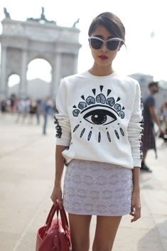 Dior Demoiselle - Milan Fashion Week street style [Photo by Kuba Dabrowski]