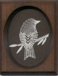 Paličkovaná krajka < Textil   LUTA - lidová umělecká tvorba