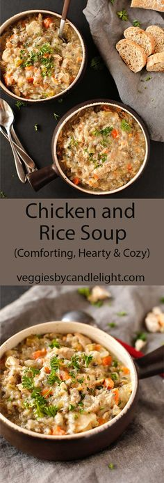 Creamy Chicken and Wild Rice Soup - Comforting, hearty and cozy, this is one of my favorite soup recipes of all time!