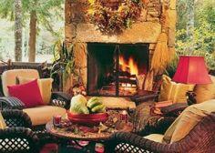 *** La chimenea: leña, carbón, gas, decorativa....***