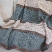 Seaside Blanket Pattern - via @Craftsy