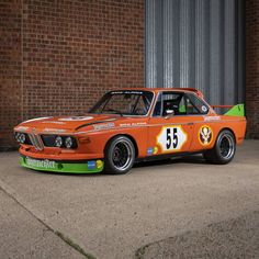 Champion competition car in fine orange livery: This hands down awesome 1971 BMW 3.0 CSL is an Ex-Schnitzer-BMW race car and for example placed 3rd overall at the 1971 Nürburgring 24 Hours. The classic racer also entered the '71 and '73 Spa 24 Hours, the '73 Silverstone Tourist Trophy and the '74 Monza 6 Hours. It comes equipped with a 180hp producing 3.0 liter 6-cylinder engine and a valid FIA Historic Technical Passport. Like & subscribe now for more classics Bmw Alpina, Bmw Classic Cars, Classic Trader, Bmw Models, London United, Car Ins, Passport, Cars For Sale, Touring