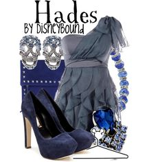 """""""Hades"""" by lalakay on Polyvore- I had to pin it because the skirt looks like the skirt I made for my pro art dress"""