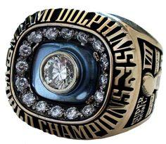 1973 Miami Dolphins Super Bowl Championship Ring