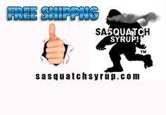 sasquatch syrup Free Shipping E-Juice