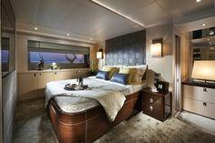 Sunseeker 75 Yacht       master stateroom
