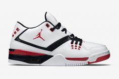 "Jordan Flight 23 ""White, Black & Uni Red"""
