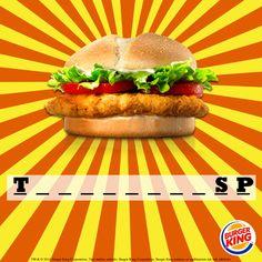 Verdiğimiz harfler yetersiz diyorsan sana bir de ipucu! Bu lezzetin Spicy Sos seçeneği de var :)