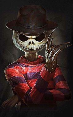 Freddy Jack Skellington mashup