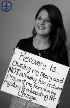"""Recovery is...""  a moving piece on ED Recovery. 1897762_713446138676819_744600335_n"