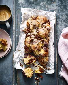 Pecan and cinnamon monkey bread | delicious. magazine Brunch Recipes, Bread Recipes, Baking Recipes, Brunch Ideas, Baking Ideas, Cinnamon Monkey Bread, Toasted Pecans, Delicious Magazine, Delicious Food