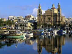 A traditional baroque church. 365 churches with similar architecture may be seen across the Maltese Islands.