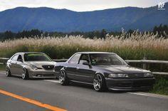 FREEE'S Toyota Verossa and Mark II // at Hakone