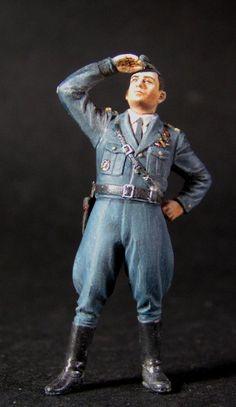 French WW2 fighter ace Albert Marcel 1/32 Calin Ungureanu