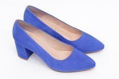 miMaO Urban S Azulon - Zapato mujer de tacon salones azul vestir cómodo -  women high e2a704c07261