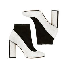 The Indecisive Girl's Guide To Fall Footwear | The Zoe Report The Whoe-BOOT Hybrid Color Block Shoe Boots, French Connection $175