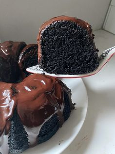 It's moist, fluffy, and intensely chocolatey.