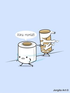 ¡Una momia! - Happy drawings :)